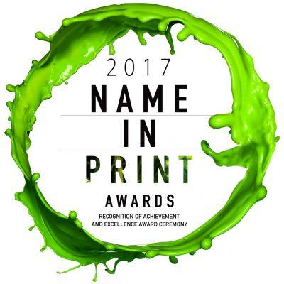 2017 Name in Print logo