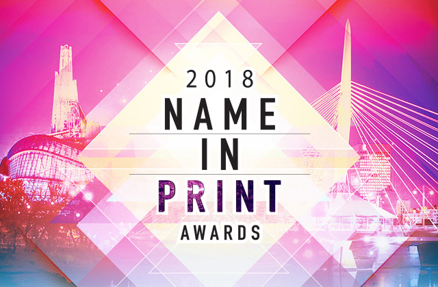 2018 NAME IN PRINT AWARDS